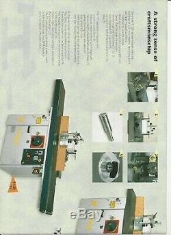 Robland T120 Ce Heavy Duty Spindle Moulder With Extended Table And Panel Support