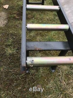 Roller Table 2 METRE LONG HEAVY DUTY ROLLER TABLE 7 ROLLERS £110