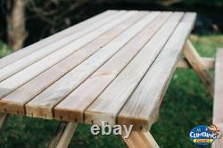 ST Heavy Duty Garden Pub Picnic tables, Wooden Garden bench, garden