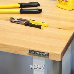 Seville Classics UltraHD Ultra Heavy Duty 48 Steel Workbench Work Bench Table