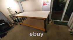 Signage Garage Heavy Duty Workbench Desk Table