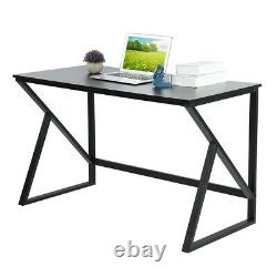 Simple Office Home PC Laptop Computer Desk Study Gaming Table Workstation Black