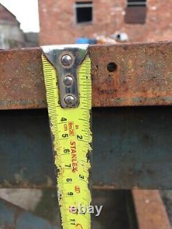 Solid steel Industrial Metal Workers Welders Table Heavy Duty