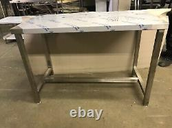 Stainless steel table/work bench TOP QUALITY/HEAVY DUTY