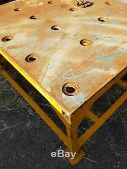 Steel Welding Fabrication table 5 Foot X4foot heavy duty 20mm Top Indestr