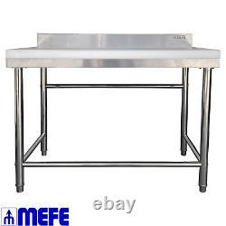 Super Heavy Duty Butcher's Chopping Table 1200 x 700 x 850 (CAT 63 72C)
