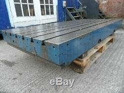 T-slotted Table. Heavy Duty Steel / Cast Iron T-slotted Table. Engineers Bench