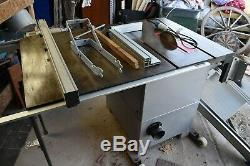 Table Saw 10 SIP heavy duty with Carriage