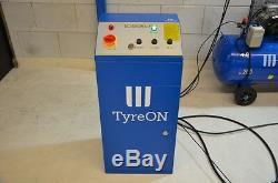TyreON TSC3200X2i scissor lift in ground 3.2T, table length 154-174 cm 400V