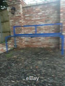 Used workshop bench/ Heavy Duty Metal Bench/ Garage Table/ Metal Table/