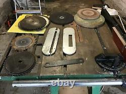 Vintage Axminster Heavy Duty APTC 10 Table Saw on Stand 240v Single Phase