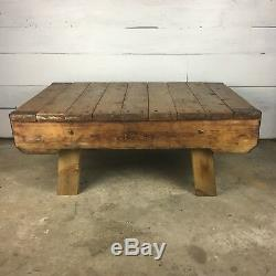 Vintage Coffee Table made from Heavy Duty Industrial Pallet