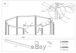 WOODEN GAZEBO, PAVILION, HOT TUB, PATIO OCTAGONAL DIAMETER 3.5 m Ex 4.2m