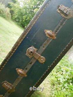 Watajoy VINTAGE steamer trunk wardrobe trunk steamline luggage coffee table