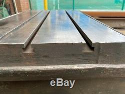 Welding Bench/Table Heavy Duty Steel Framed T-Bar Slotted Bork Bench