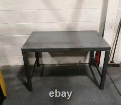 Welding table 1500x700mm heavy duty packing work surface