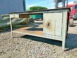 Work Bench Welding Table Heavy Duty Industrial 8mm Thick Steel