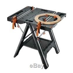 Work Table Steel Frame Folding Shelf Light Weight Durable Rust Proof Heavy Duty