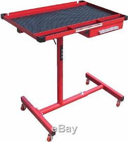 Workshop Table with Drawer Fully Adjustable 360 degree rotation Heavyduty