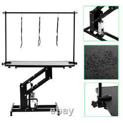 XL Heavy Duty Hydraulic Dog Bath Grooming Table/Station Professional H Bar & Arm