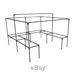 10ft X 8ft De Plain-pied Étal De Marché Avec Des Tables Stands
