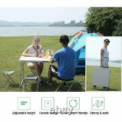 180 X 60 CM 6ft Table D'exploitation Du Droit Portable Camping Partenaire Catering
