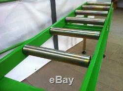 2 Mètres Atelier Heavy Duty Rouleau Tableau 7 Rouleaux Excellent Rapport Qualité
