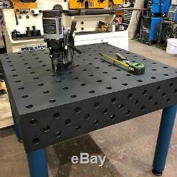 25 MM D'épaisseur Robuste Banc De Soudage / Jig Table / Table Fixture