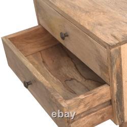 2x Armoire De Chevet Moderne Scandi Fait Main Table De Chevet En Bois Massif Rustique