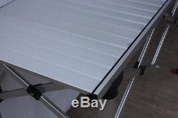 3m Sautent La Table Résistante En Aluminium De Décrochage Du Marché De Gazebo De Compteur De Commerçant