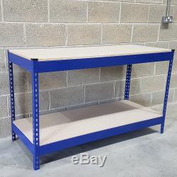 500 KG Heavy Duty Travail Des Métaux Banc Garage Atelier Table Workbench Station Ukdc