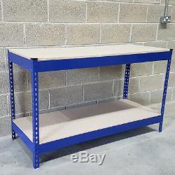 500 KG Heavy Duty Travail Des Métaux Banc Garage Atelier Table Workbench Station Ukes