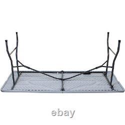 6ft Pliage Heavy Duty Table & Bench Set Outdoor Blow Meubles De Jardin Moulés