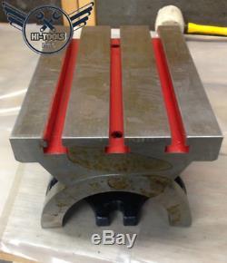 7 X 10 Réglable Plaque Pivotante Angle D'inclinaison Table Heavy Duty
