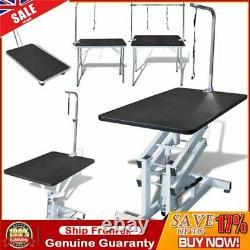 Animaux De Compagnie Cat Grooming Beauty Table De Bain Pliable Réglable Table 1/2 Loop Arm Uk