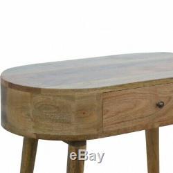Arrondi MID Century Desk / Table Console / Coiffeuse Scandinave Style