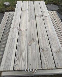 Banc De Pique-nique/banc De Pub Bois Traité Fait Main Jardin Rustique Sièges Heavy Duty Table