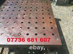 Banc De Soudage Heavy Duty / Table Jig / Table D'appareil Avec 5 Béliers De 12 Tonnes