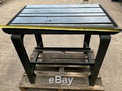 Banc De Soudage / Table Robuste En Acier Avec Cadre T-bar Slotted Bork Banc