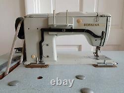 Bernina Zig-zag Machine À Coudre Semi-industriel Lourd + Table De Couture
