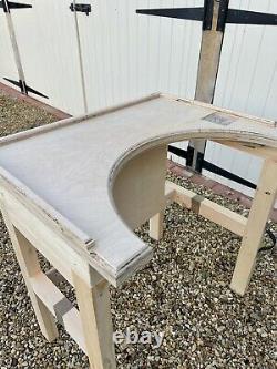 Bijoux Pliants, Portatifs / Artisanat/hobby Table En Bois/bench