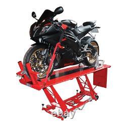 Biketek Hydraulic Motor Bike Motorcycle Workshop Reparation Table Lift Stand