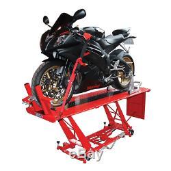 Biketek Hydraulique Moto Atelier Table Élévatrice Heavy Duty Ce Approuvé