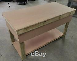 Bois Mdf Top Etabli Avec Tiroirs Industriel Robuste Table Garage Stockage