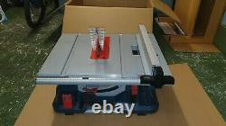 Bosch Gts 635-216 Scie À Table Heavy Duty D'occasion Très Bon État