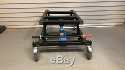 Brand New Black Pool Hydraulique Heavy Duty Table Chariot Avec Une Poignée Jack