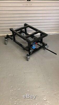 Brand New Hydraulique Heavy Duty Table De Billard Chariot Avec Une Poignée Jack