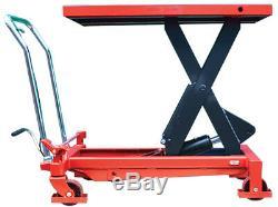 Chariot À Chariot Mobile À Plate-forme Élévatrice Hydraulique Liftkgear 1000kg
