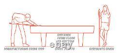 Chariot De Table De Billard (poids Lourd) Direct Du Fabricant, Garantie De 5 Ans