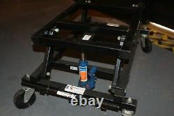 Chariot Hydraulique Lourd De Table De Piscine Avec La Poignée De Cric, À Peine Employé